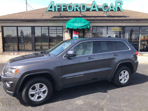 2014 Jeep Grand Cherokee for sale at Afford-A-Car in Moraine OH