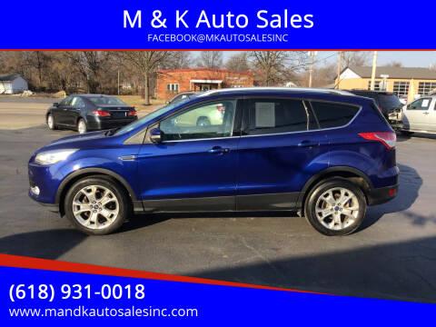 2014 Ford Escape for sale at M & K Auto Sales in Granite City IL