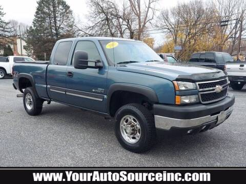 2007 Chevrolet Silverado 2500HD Classic for sale at Your Auto Source in York PA