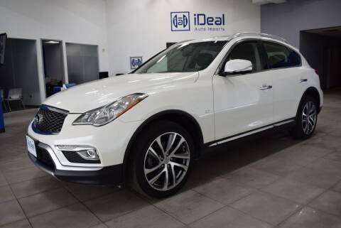 2017 Infiniti QX50 for sale at iDeal Auto Imports in Eden Prairie MN
