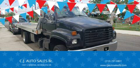 1995 GMC C7500 for sale at C.J. AUTO SALES llc. in San Antonio TX