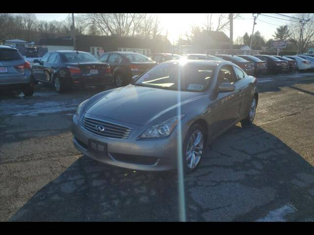 2009 Infiniti G37 Coupe for sale at Colonial Motors in Mine Hill NJ