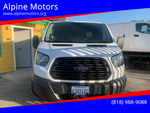 2015 Ford Transit Cargo for sale at Alpine Motors in Van Nuys CA