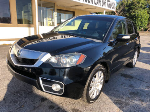 2012 Acura RDX for sale at Beach Cars in Fort Walton Beach FL