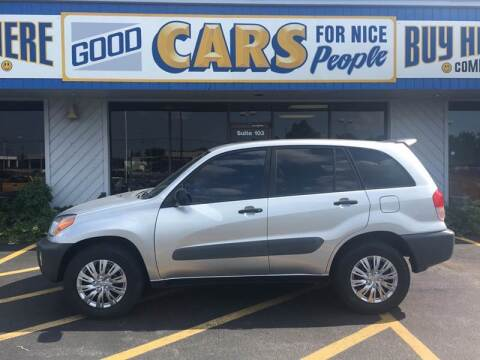 2001 Toyota RAV4 for sale at Good Cars 4 Nice People in Omaha NE
