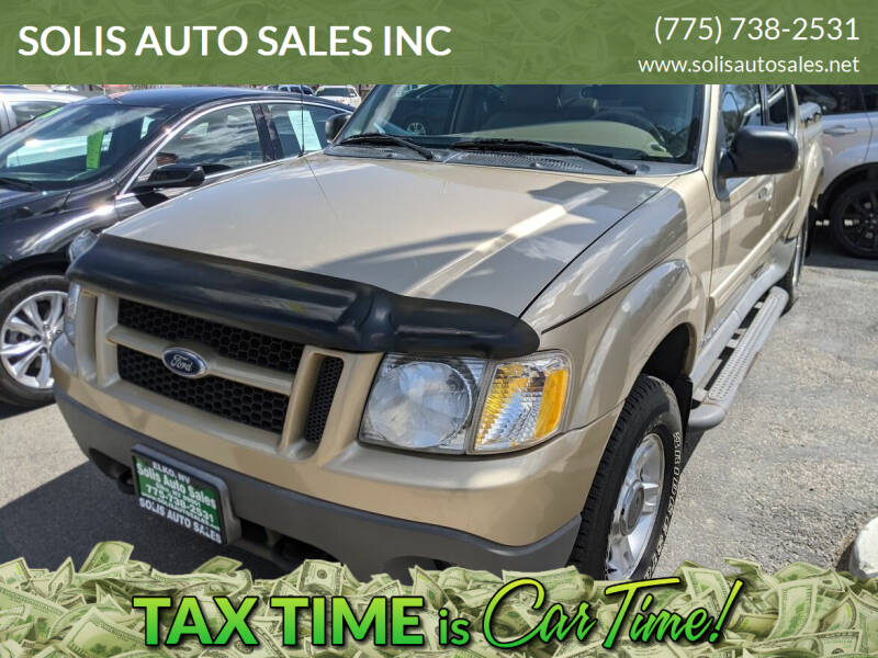 2001 Ford Explorer Sport Trac for sale at SOLIS AUTO SALES INC in Elko NV