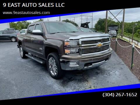 2014 Chevrolet Silverado 1500 for sale at 9 EAST AUTO SALES LLC in Martinsburg WV