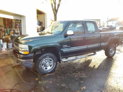 2002 Chevrolet Silverado 2500HD for sale at Berkshire County Auto Repair and Sales in Pittsfield MA