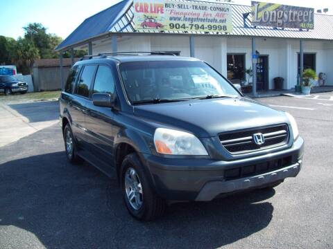 2004 Honda Pilot for sale at LONGSTREET AUTO in St Augustine FL