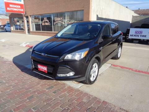 2016 Ford Escape for sale at Rediger Automotive in Milford NE