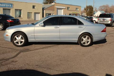 2004 Mercedes-Benz S-Class for sale at Epic Auto in Idaho Falls ID