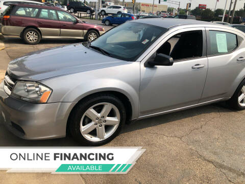 2013 Dodge Avenger for sale at Top Notch Auto Brokers, Inc. in Palatine IL