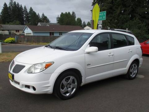 2005 Pontiac Vibe for sale at Yellow Line Motors in Lafayette OR