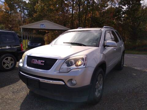 2008 GMC Acadia for sale at Seneca Motors, Inc. (Seneca PA) - SHIPPENVILLE, PA LOCATION in Shippenville PA