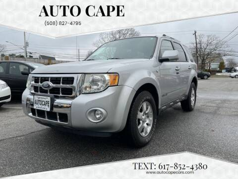 2008 Ford Escape for sale at Auto Cape in Hyannis MA