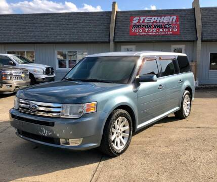 2010 Ford Flex for sale at Stephen Motor Sales LLC in Caldwell OH