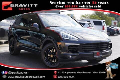 2016 Porsche Cayenne for sale at Gravity Autos Roswell in Roswell GA