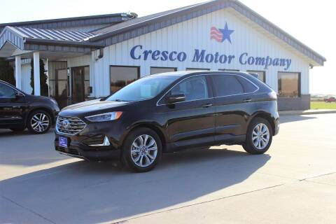 2019 Ford Edge for sale at Cresco Motor Company in Cresco IA