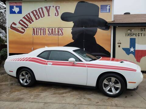 2017 Dodge Challenger for sale at Cowboy's Auto Sales in San Antonio TX