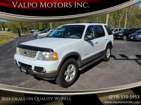 2004 Ford Explorer for sale at Valpo Motors Inc. in Valparaiso IN