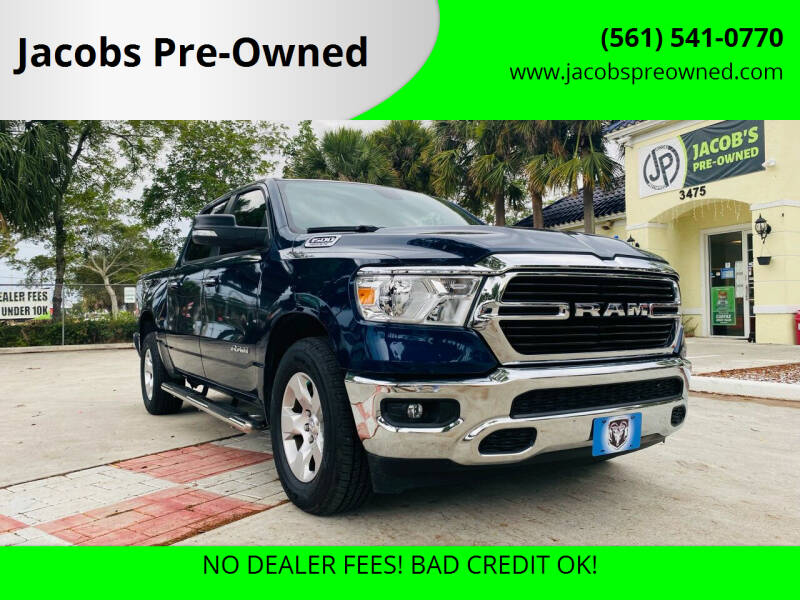 2020 RAM Ram Pickup 1500 for sale at Jacobs Pre-Owned in Lake Worth FL