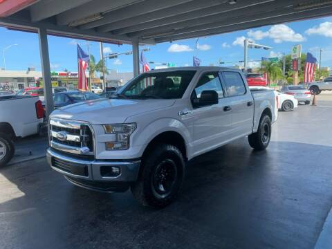 2016 Ford F-150 for sale at American Auto Sales in Hialeah FL