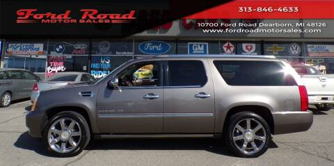 2011 Cadillac Escalade ESV for sale at Ford Road Motor Sales in Dearborn MI