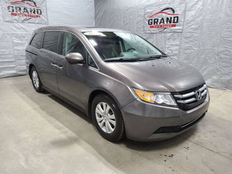 2015 Honda Odyssey for sale at GRAND AUTO SALES in Grand Island NE