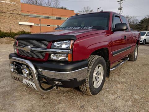 2004 Chevrolet Silverado 1500 for sale at DILLON LAKE MOTORS LLC in Zanesville OH