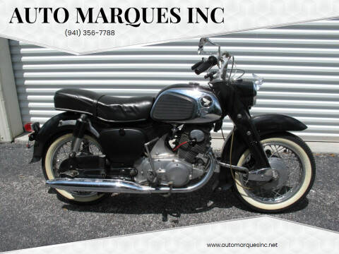1963 Honda 305 DREAM for sale at Auto Marques Inc in Sarasota FL