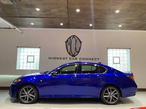 2016 Lexus GS 350 for sale at Midwest Car Connect in Villa Park IL