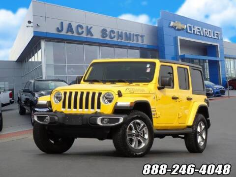 2021 Jeep Wrangler Unlimited for sale at Jack Schmitt Chevrolet Wood River in Wood River IL