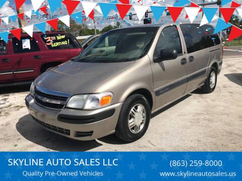 2003 Chevrolet Venture for sale at SKYLINE AUTO SALES LLC in Winter Haven FL
