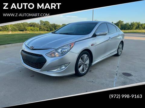 2015 Hyundai Sonata Hybrid for sale at Z AUTO MART in Lewisville TX