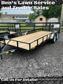 2021 Trailer Express 20'Utility for sale at Ben's Lawn Service and Trailer Sales in Benton IL