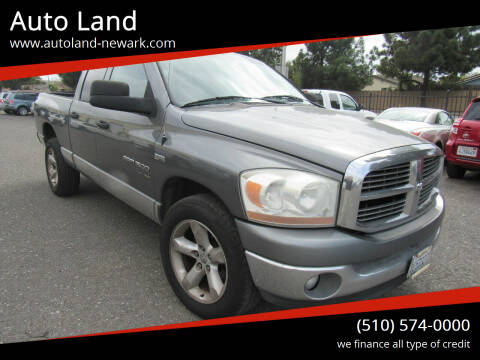 2006 Dodge Ram Pickup 1500 for sale at Auto Land in Newark CA