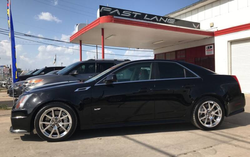 2011 Cadillac CTS-V for sale at FAST LANE AUTO SALES in San Antonio TX