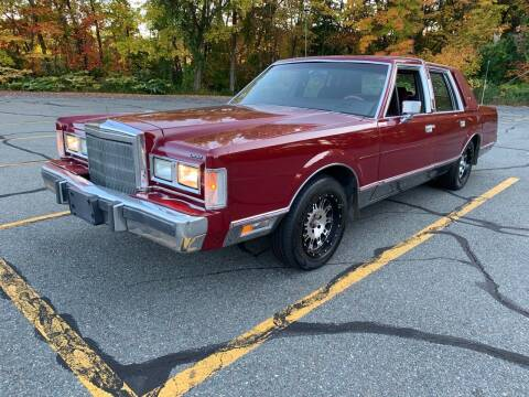 1988 Lincoln Town Car for sale at Broadway Motor Sales and Auto Brokers in North Chelmsford MA