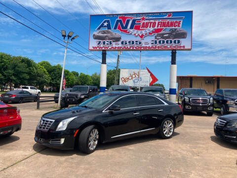 2014 Cadillac XTS for sale at ANF AUTO FINANCE in Houston TX