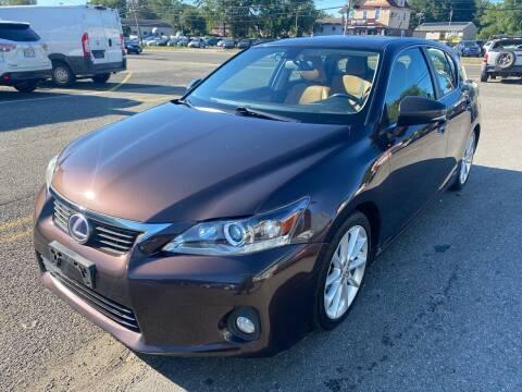 2012 Lexus CT 200h for sale at MFT Auction in Lodi NJ
