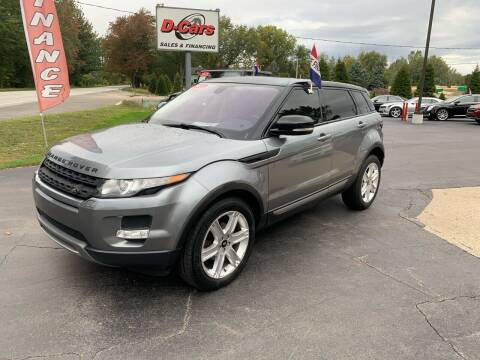 2013 Land Rover Range Rover Evoque for sale at D-Cars LLC in Zeeland MI
