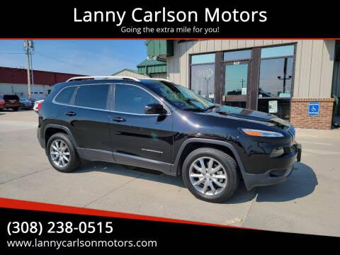 2018 Jeep Cherokee for sale at Lanny Carlson Motors in Kearney NE
