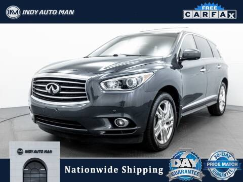 2014 Infiniti QX60 for sale at INDY AUTO MAN in Indianapolis IN