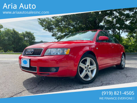 2005 Audi A4 for sale at ARIA  AUTO  SALES in Raleigh NC