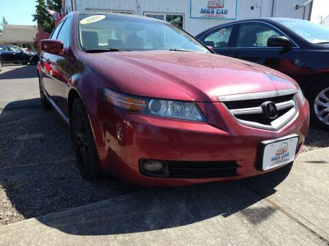 2005 Acura TL for sale at M AND S CAR SALES LLC in Independence OR