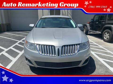 2009 Lincoln MKS for sale at Auto Remarketing Group in Pompano Beach FL