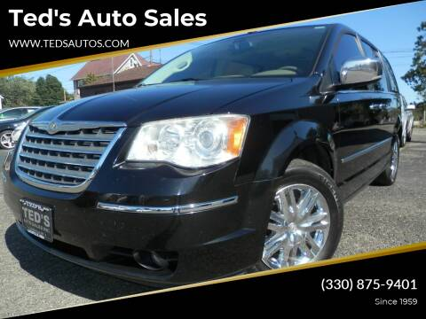 2010 Chrysler Town and Country for sale at Ted's Auto Sales in Louisville OH