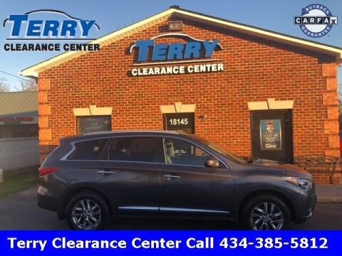 2013 Infiniti JX35 for sale at Terry Clearance Center in Lynchburg VA