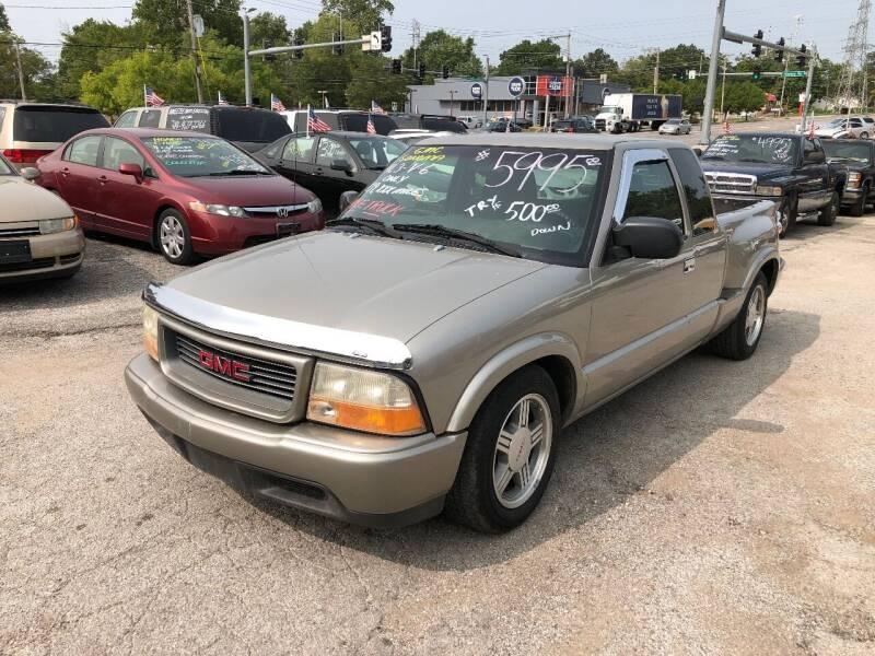 1999 GMC Sonoma for sale at Kneezle Auto Sales in Saint Louis MO