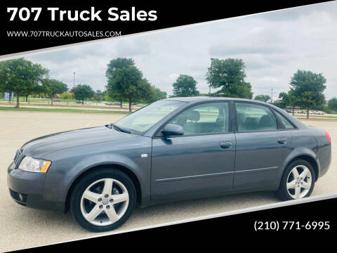 2003 Audi A4 for sale at 707 Truck Sales in San Antonio TX